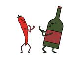 餐酒搭配并没有固定的法则和必须要遵循的条条框框,完全可以根据个人的喜好和口味。本文将会教你3招不同寻常的餐酒搭配法,让你吃得开心,喝得痛快。