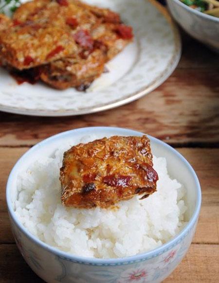 香辣烤带鱼