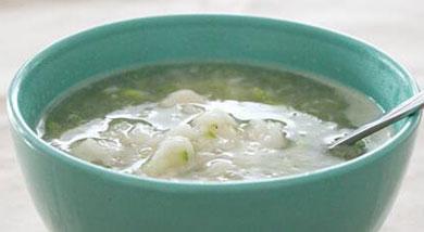 """原料:小麦面粉;西葫芦;土豆;调味:食盐;胡椒粉;营养:早上刚睡醒,在胃还没""""打开""""的情况下,喝一碗热乎乎的汤水下肚,好像外面的暴风雪就没那么的让人难受~做法和步骤:西葫芦土豆疙瘩汤做法和步骤1西葫芦"""