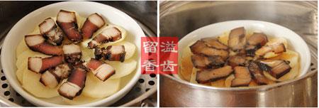 酱肉土豆片