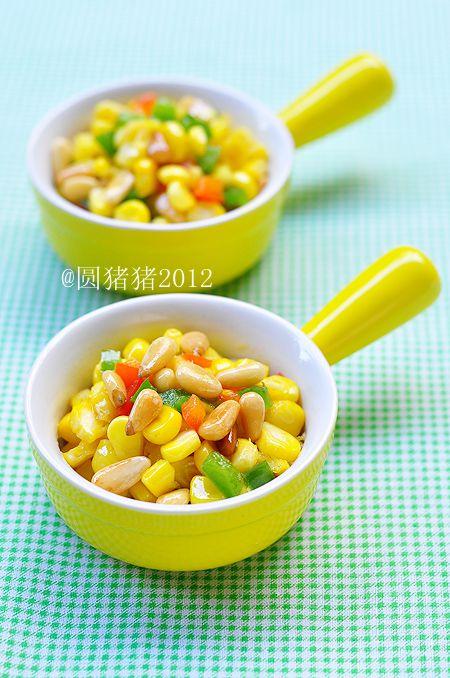 奶香松仁玉米