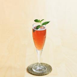 皇家基尔酒(kir royale)是一款十分高贵的艺术调酒,色彩鲜明,口感香甜。它是一杯经典的欧式餐前酒,也是世界级的鸡尾酒。皇家基尔酒一直是奢华与高贵的代名词。小提示:根据酒杯大小,调整各酒水比例,香槟约占60%                奶油黑加仑力娇酒1茶匙白兰地1/2盎司香槟适量薄荷枝叶1枝1把黑加仑力娇酒倒入冰镇的酒杯中2加上白兰地3用香槟补至九分满4加上薄荷枝叶装饰5尽享美味吧!转载请注明:有颜色 » 皇家基尔酒