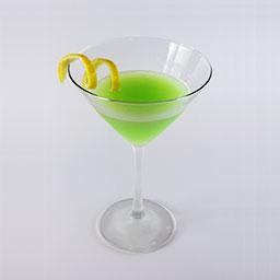 错觉(Illusion)是一杯口感十分清爽的鸡尾酒,以伏特加为基酒调制。蜜瓜力娇酒与菠萝汁混合,再由君度力娇酒、柠檬汁来提味,带给我们的不只是视觉上的一抹绿,更多的是清香与含蓄的酸。                冰块4-6块伏特加1盎司蜜瓜力娇酒1盎司君度1盎司柠檬汁0.5盎司菠萝汁1.5盎司柠檬皮条1根1在雪克壶中放入4-6冰块2倒入伏特加、蜜瓜力娇酒、君度、柠檬汁、菠萝汁3摇晃均匀4将调制好的鸡尾酒滤入酒杯中,加上柠檬皮条装饰5尽享美味吧!转载请注明:有颜色 » 错觉