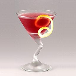 派克大街(Park Avenue)是美国纽约市的豪华大街名,时尚与奢华的代名词。这杯鸡尾酒有着朱砂红般的高贵色彩,以伦敦干金酒为基酒,樱桃白兰地与马拉希诺樱桃力娇酒(Maraschino Liqueur)占据了主味色。派克大街通常用来做宴会鸡尾酒,贵妇人一身艳丽的晚礼服,端上这杯酒将带来烈焰红唇般的魅丽。                冰块4-6块干金酒1.5盎司樱桃白兰地0.5盎司樱桃力娇酒1盎司青檬汁1盎司柠檬皮条1根1在雪克壶中放入4-6冰块2倒入干金酒、樱桃白兰地、樱桃力娇酒、青檬汁3摇晃均匀4将