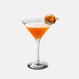 感恩节(Thanksgiving)是一杯有着浓郁节日色彩的鸡尾酒,由南瓜香料力娇酒着色的这杯酒有着十分香甜滑润的口感。  南瓜香料力娇酒国内不容易买到,可以自制。配方:1汤匙南瓜泥、1盎司君度、0.5盎司伏特加、少许肉桂粉和肉豆蔻粉末,搅拌均匀即可。                冰块4-6块伏特加1盎司南瓜香料力娇酒2盎司榛子力娇酒1盎司青檬汁1盎司石榴汁1盎司醋栗1颗1在雪克壶中放入4-6冰块2倒入伏特加、南瓜香料力娇酒、榛子力娇酒3加入青檬汁、石榴汁4摇晃均匀后(由于南瓜力娇酒的加入,摇晃相对久一些